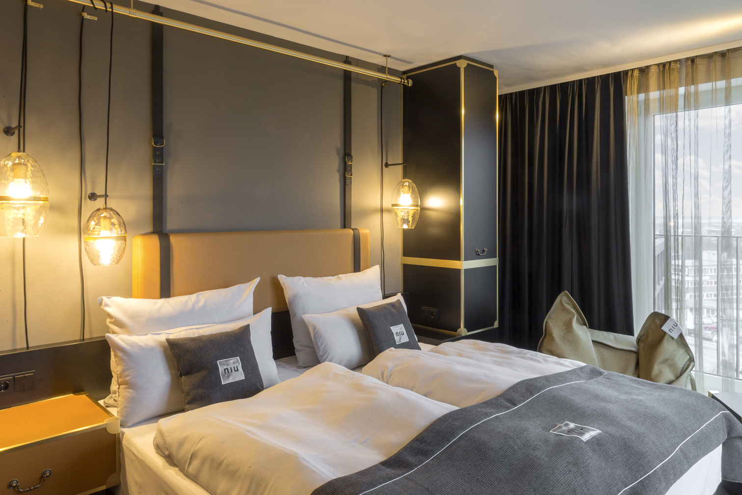 Niu in town weltweit erstes niu hotel er ffnet am 1 for Designhotel essen