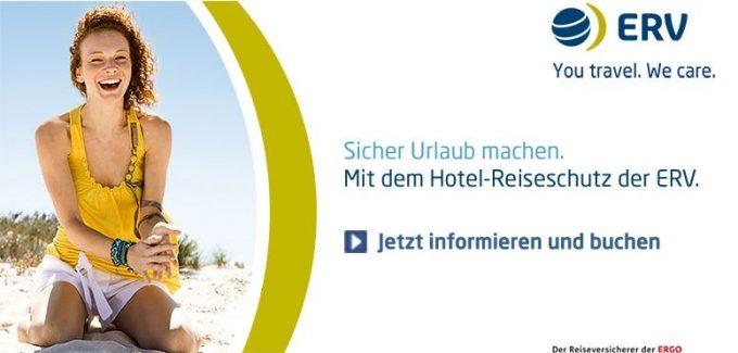 ERV - Sicher Urlaub machen mit Hotel Reiseschutz