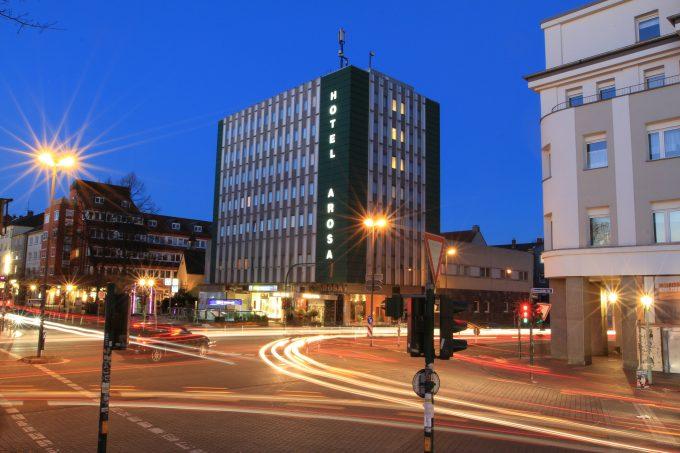 Historic hotel Arosa in Essen