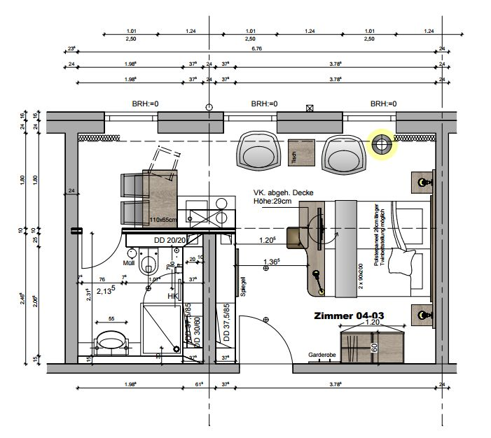 NOVUM Style City Fürth - Grundriss Penthouse
