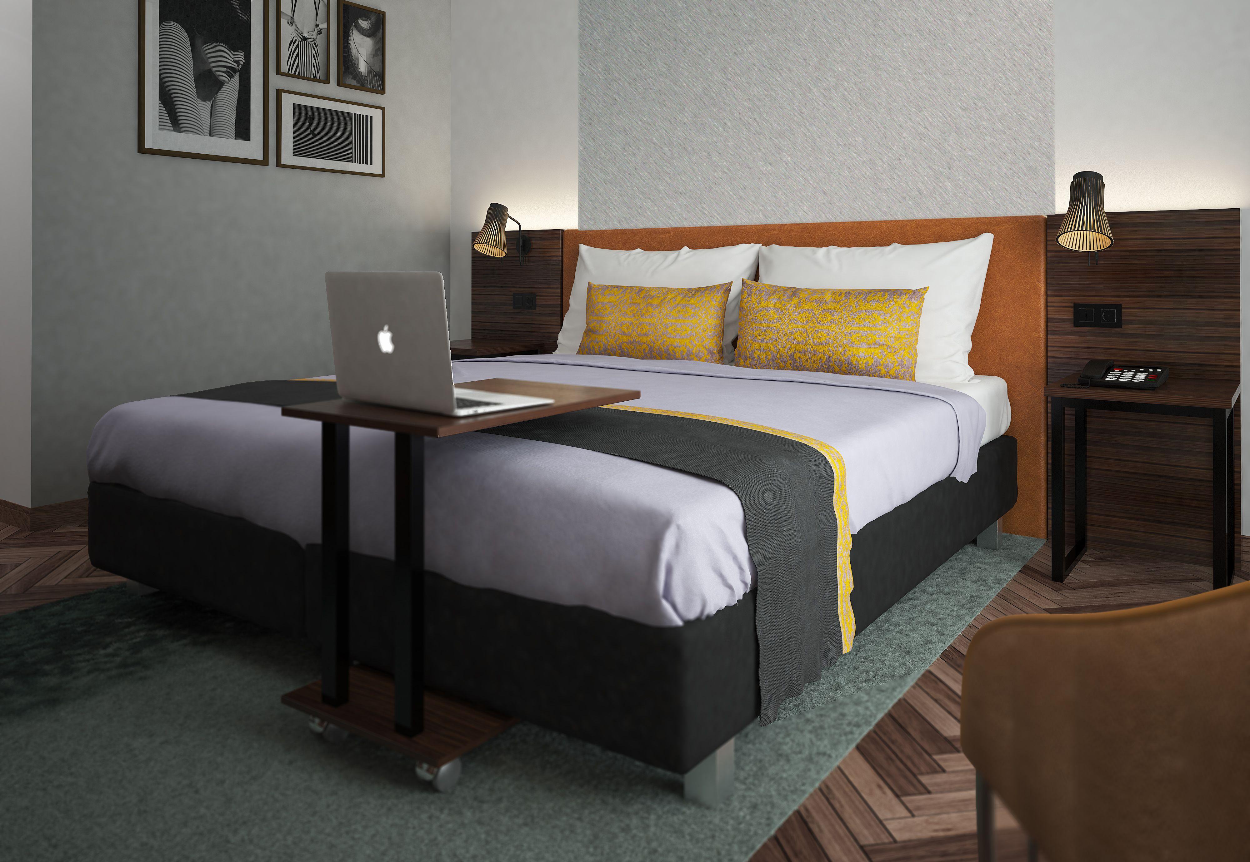 Rendering: niu Hotels Zimmer